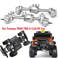 GRC TRX4 G2 Aluminum Full Front & Rear Axle Set For 1/10 RC TRX-4 #GAX0121BFM