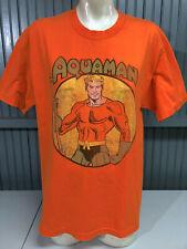 Dc Comics Aquaman Orange Large T-Shirt