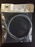 NAI Front Gray Road & Touring Bicycle Brake Cable Vintage Raleigh Made In UK NOS
