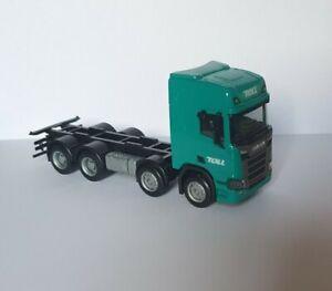 1/87 HO scale trucks Herpa/Custom Scania 'R' Rigid Truck 'TOLL'