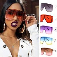 Women Frameless Sunglasses Oversized Square Eyeglass Rimless Sun Glasses Shield