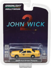 Greenlight 1/64 John Wick Chapter 2 Ford Crown Victoria Taxi Cab - 44790-F