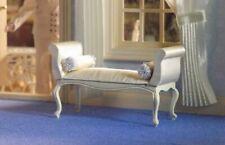 1/12 Dolls House Emporium George III Cream Window Seat/Chair Georgian/Victorian