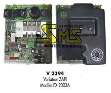 VARIATEUR TRACTION ZAPI Modèle FX 2003A AUTOLAVEUSE GANSOW ECHANGE STANDARD