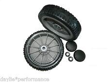 "honda 19"" and 21"" mower wheels pair 2x 8"" suit hru194 hru195 and hru196"