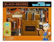 Black and Decker Jr Tool Belt Pretend Construction Tools play set Toy