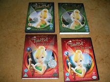 2 x DVDs -- TINKERBELL + THE LOST TREASURE /  Region 2 WALT DISNEY