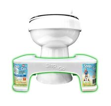 Step and go Toilet Stool 7� New - Proper Toilet Posture for Better and Healthier
