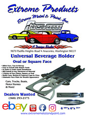 Hot Rod Billet Aluminum Cup Holder