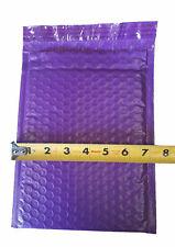 25 6x10 Purple Poly Bubble Mailer Envelope Shipping Wrap Plastic Mailing