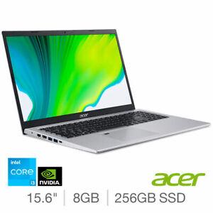 """Acer Aspire 5 A515-56G 15.6"""" Laptop i3-1115G4 8GB 256GB Silver NX.A1KEK.007"""