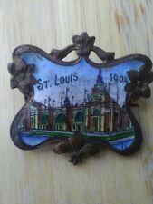 Rare St Louis worlds fair 1904 pin.