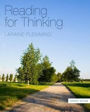 Reading for Thinking by Laraine E. Flemming (2012, Paperback)