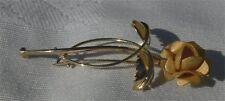 Brosche Rose Gold Gelbgold 585 14 Karat