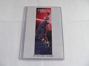 """MINT 1990's VINCE CARTER """"INVINCEABLE"""" TORONTO RAPTORS ORIGINAL NBA MINI POSTER"""