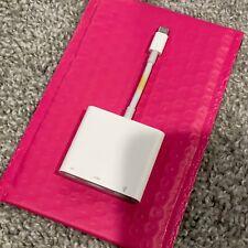 Apple USB-C Digital AV Multiport Adapter MUF82AM/A Model A2119 USB-C/HDMI/USB