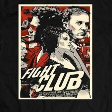 FIGHT CLUB MOVIE *OLDSKOOL CUSTOM ARTWORK* Men's T-Shirt *FULL FRONT OF SHIRT*