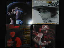 RARE COFFRET 2 CD BOB DYLAN / LIVE 1975 / LIVRET AVEC PHOTOS INEDITES /