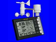 Professional weather station wind speed wind direction temperature humidity rain