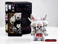"Death White Variant - Arcane Divination Dunny Series 3"" Vinyl FIgure - Kidrobot"