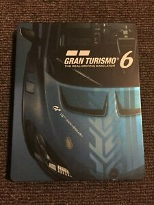 GRAN TURISMO 6 - PS3 PlayStation 3 Game with STEELBOOK - Very Good Condition