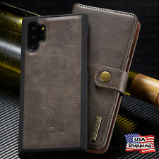 REMOVABLE LEATHER WALLET Magnet Flip Cover Case For Galaxy Note 20 S20 Ultra