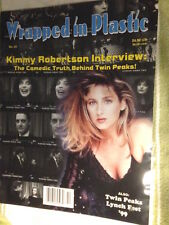 WOW 'WRAPPED in PLASTIC' magazine #43 Oct '99 / Kimmy Robertson talk /TWIN PEAKS