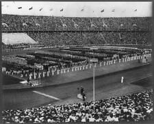 Photo:Opening ceremonies,1936 Olympic Games,Berlin,Germany 5243