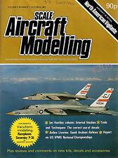 SCALE AIRCRAFT MODELLING OCTOBER 1981 - NORTH AMERICAN VIGILANTE - SEVERSKY P-35