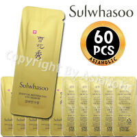 Sulwhasoo Essential Rejuvenating Eye Cream EX 1ml x 60pcs (60ml) Sample Newist