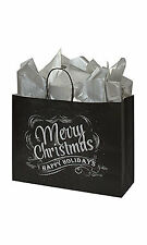 Large Christmas Chalkboard Paper Shopping Bags  16