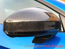 Audi TT 8S MK3 R8 Carbon Fibre Fiber Complete Replacement Mirrors - UK Stock New