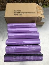 Sweep And Mop Replacement Head Heads New 6 Box Purple Cleaning Lot