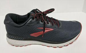 Brooks Adrenaline GTS 20 Running Shoes, Black/Red, Men's 10.5 Wide