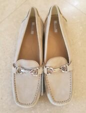 GEOX Respira Suede Flats Size 36 Italian Patent ~ Brand new w/tags ~