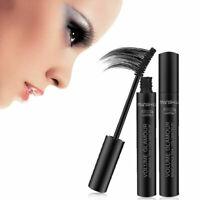 Mascara Black 3D Makeup Fiber Eye Lashes Extension Curling Beauty Tool-Gift B5J9
