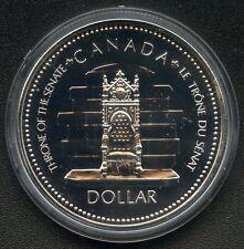 1977 Canada Silver Dollar Queen Elizabeth II 25th Jubilee ( 23.3 Grams .500 )