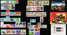 Brazil - 1972 - Complete Year - 48 stamps - 3 Souvenir Sheets -Mint Never Hinged