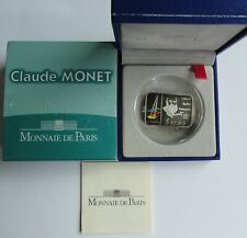 5 Euro Claude Monet  2009 France Frankreich SILVER PP Proof RARE