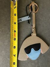 NEW NWT LOVE BRAVERY Lady Gaga Elton John KEY CHAIN RING Sunglasses Face