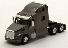 Ton Peterbilt 587 Tractor Metallic Slate Gray New But Open Stock No Box 1/87