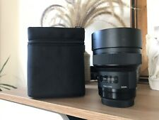 Almost NEW / SIGMA 14mm f/1.8 DG HSM Art Lens for Canon EF