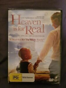 Heaven Is For Real DVD - Region 4 - BRAND NEW SEALED