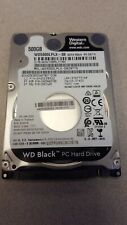 "Western Digital BLACK 500GB Internal 7200RPM 2.5"" Laptop Hard Drive WD5000LPLX"