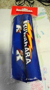 Kuwahara RETRO Lightning Pad Set Blue BMX Old School Vintage Frame Stem V Bar