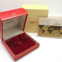 Genuine OMEGA VINTAGE Watch box Guarantee 511.5514 1972' / 0225021
