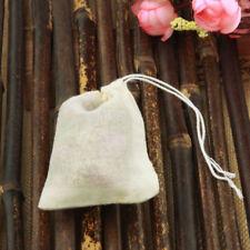 "1000 PCS 2""x3"" Mini Cotton Muslin Drawstring Reusable Bags Bath Soap Herbs Tea A"