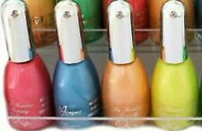 NEW La Femme  Set Of 4 NEON Nail Polish VANISH Negelack-BLUE,PINK,YELLOW...