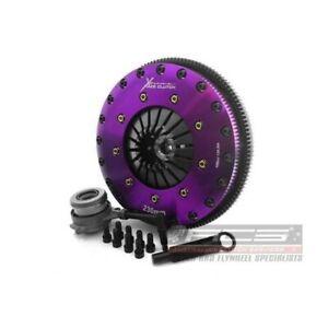 Xtreme Clutch & Flywheel 230mm Organic Twin Plate Fits VW GOLF GTI MK 713-18