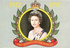 Royalty Postcard, QE2 1952-1977 The Queen's Silver Jubilee, Queen Elizabeth KI5